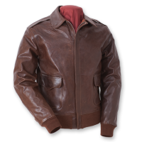 Eastman USAAF A-2 Flying Jacket, Seal Brown Horsehide