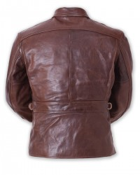 ELMC Californian Vintage-Style, Half-Belt Jacket, American Walnut