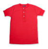 ELMC Henley Tee Shirt, Red