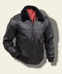 Buzz Rickson William Gibson G-1 Flying Jacket, Black BR80463