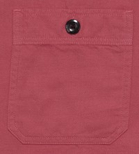 Sugar Cane 90/10 Cotton-and-Wool Shirt, Red SC27382-165