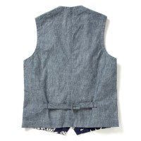 Sun Surf Duke's Pineapple Tailored Vest, Navy DK13797-128