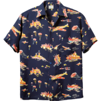 Surf Special-Edition Hawaiian Shirt, Turn to War SS37576-128