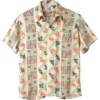 Sun Surf Special-Edition Hawaiian Shirt – Abstract Coral Stripe