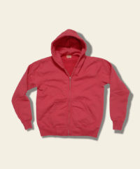 whitesville hoodie sweat jacket red wv67914